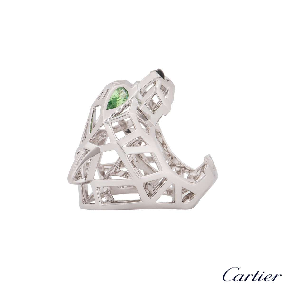 Cartier White Gold Panthere Ring N4730900